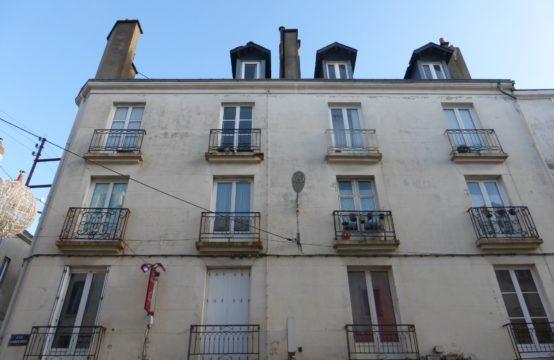 Nantes centre: Appartement de 30m²