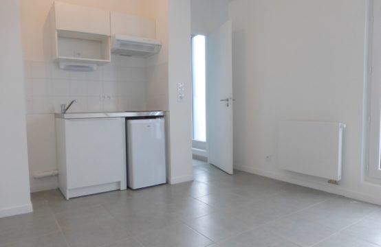Nantes centre: Appartement neuf, 1 pièce de 20m²