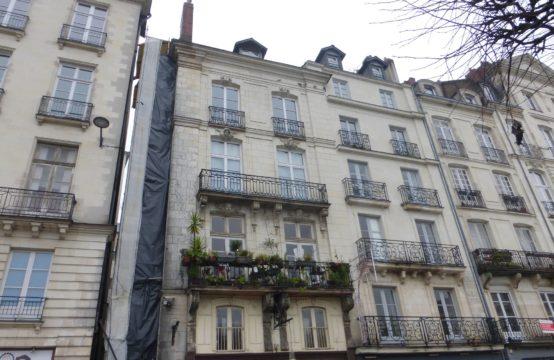 Nantes hypercentre: Appartement 2 pièces de 51m²