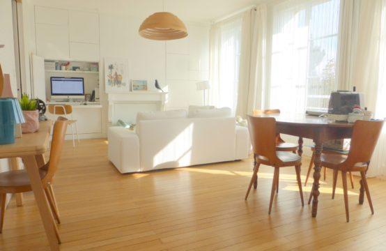 Nantes centre: Appartement 4 pièces de 90m²