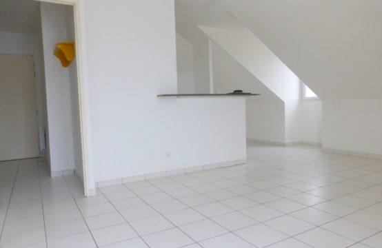 Nantes: Appartement deux pièces de 47m²